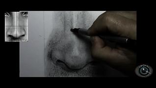 Como desenhar um nariz realista passo a passo