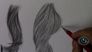 Como desenhar cabelos realistas passo a passo