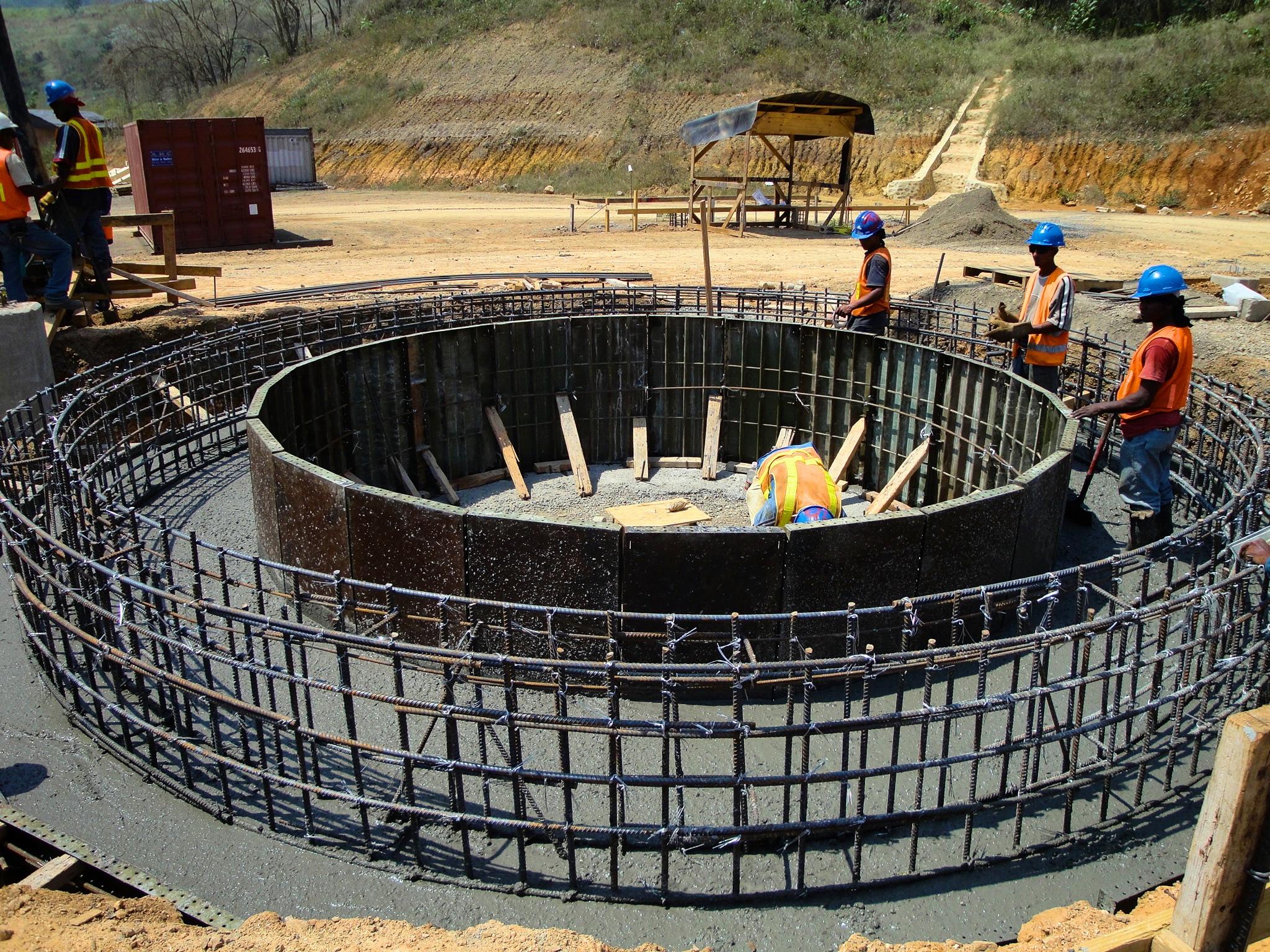 Reservorios Sección Circular
