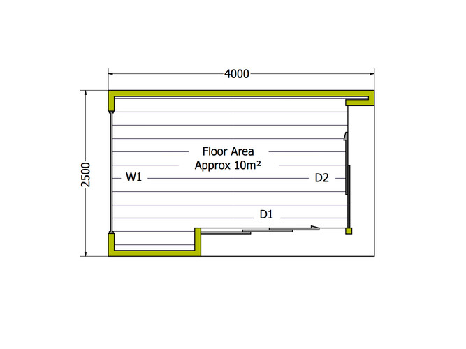 4x2.5 Cooba - Side Access