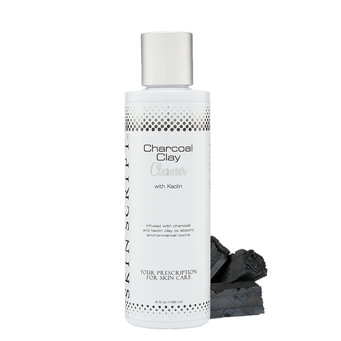 6.5 oz Charcoal Clay Cleanser with Kaolin