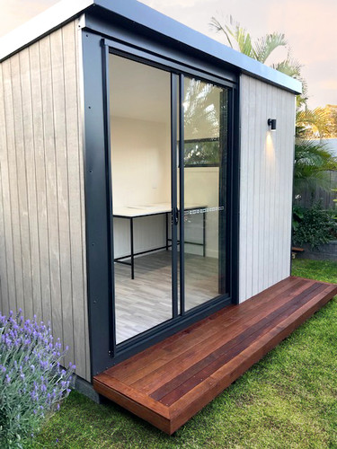 inoutside garden office - 2.4x3.6m Cabin design