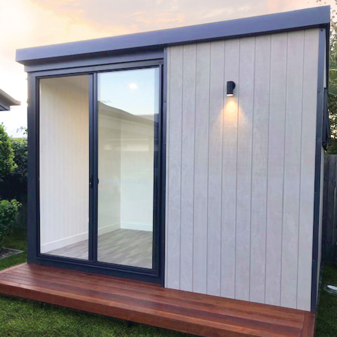 inoutside garden office - 2.4x3.6m Cabin design