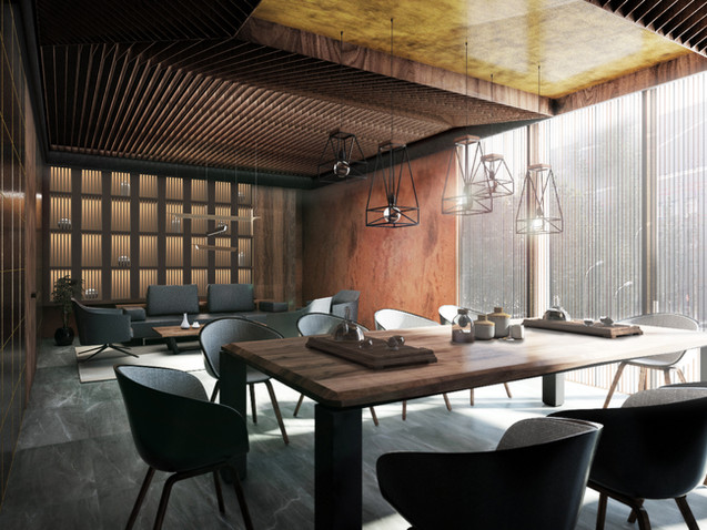 Teahouse in Jinan, China