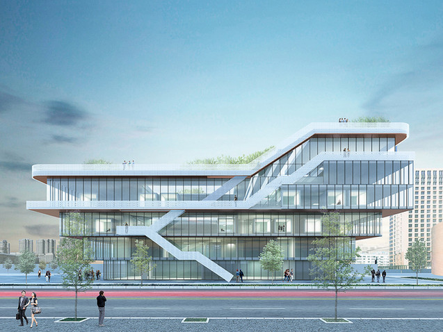 North Design Union HQ, Tianjin, China