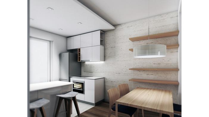 New interior design under construction