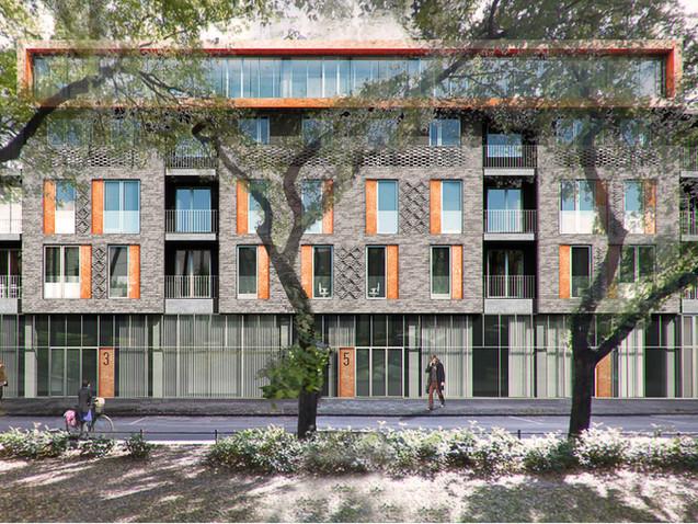Subotica residential facade design