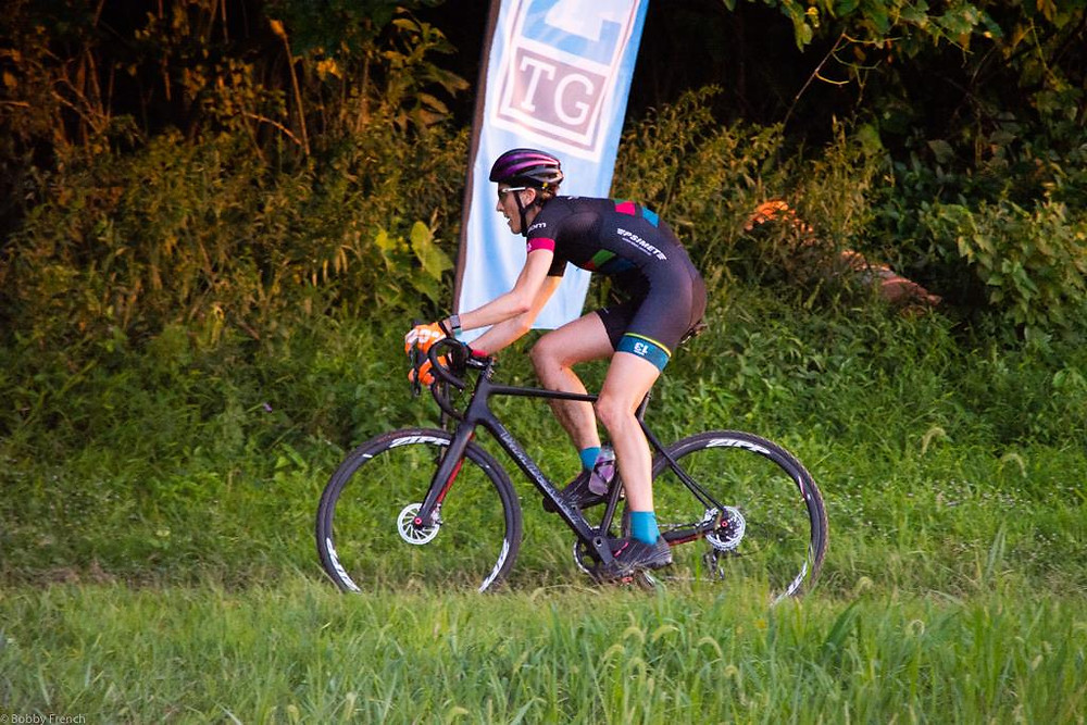 Cyclocross at Valley Park as part of the @2TImingGuys Thursday Night Dirt Crit series
