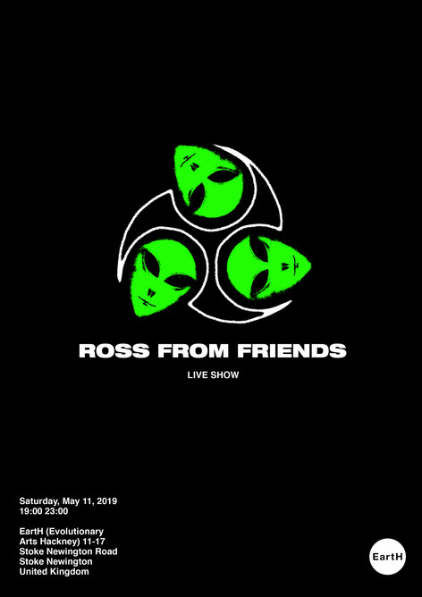 Ross From Friends Tour Poster