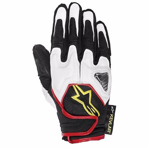 Alpinestars Scheme Kevlar Glove White/Black/Red/Fluo