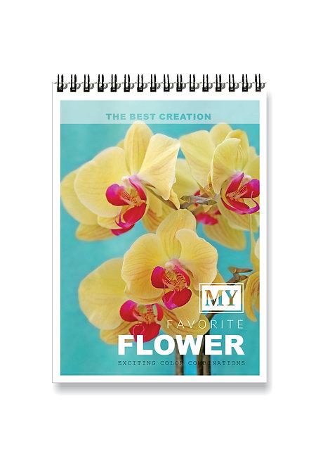 წიგნაკი - FLOWER