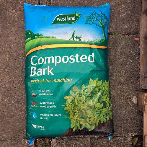 Westland Composted Bark 70Litres