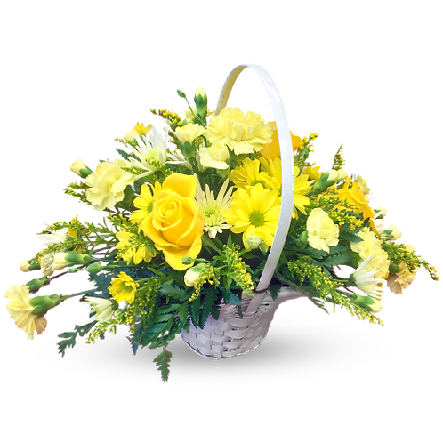 Basket Bouquet 02 (Local / Basket02)