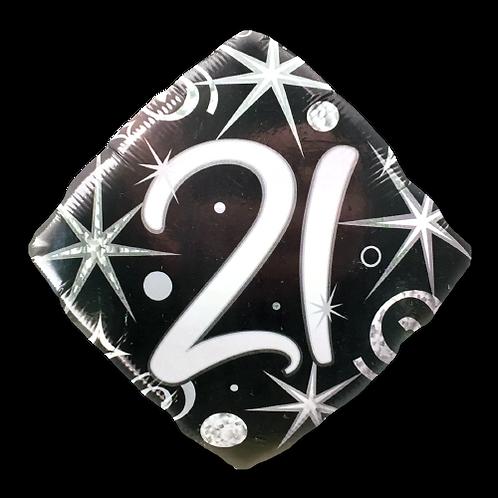 21 (18inch Foil Balloon)