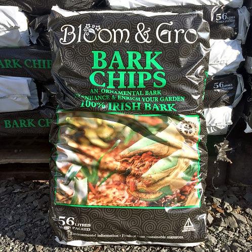 Bloom'n'Gro Bark Chips 56Litres