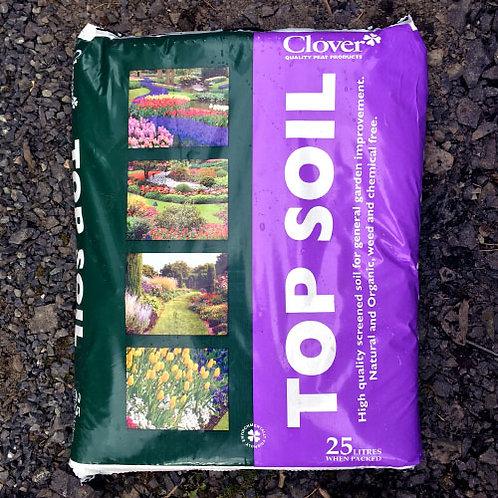 Clover Top Soil 25Litres