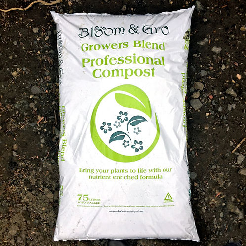 Bloom'n'Gro Growers Blend Professional Compost 75Litres