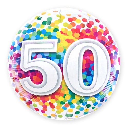 50 (18inch Foil Balloon)
