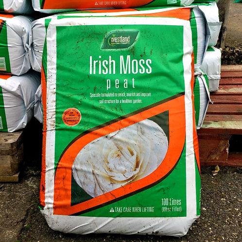 Westland Irish Moss Peat 100Litres