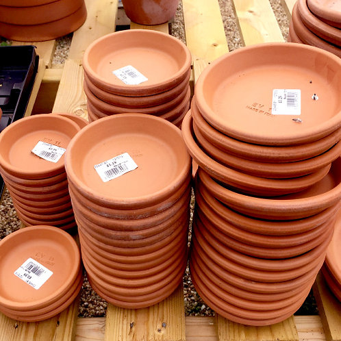 Terracotta Saucers
