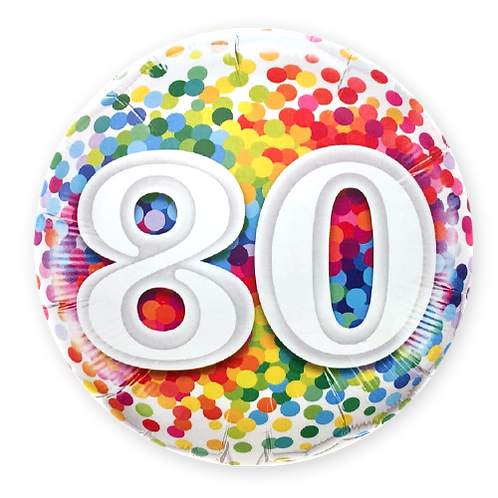 80 (18inch Foil Balloon)
