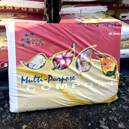 Mother Earth Multi-Purpose Compost 60Litres