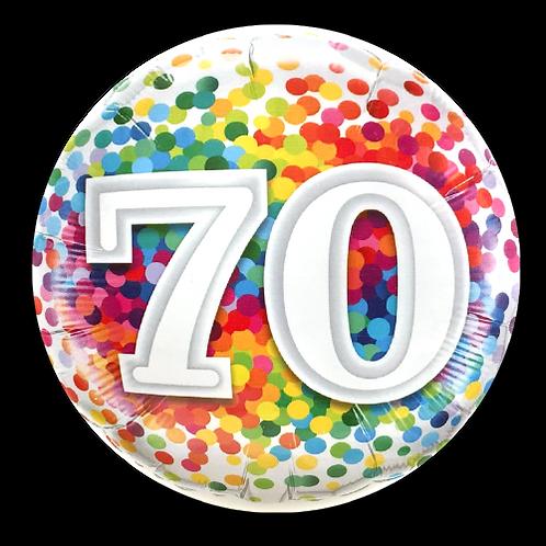 70 (18inch Foil Balloon)