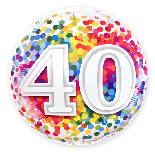 40 (18inch Foil Balloon)
