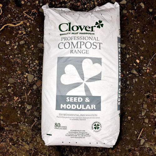 Clover Professional Compost Seed & Modular 80Litres