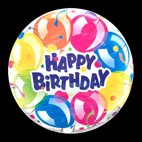 Happy Birthday (Style 1) (18inch Foil Balloon)