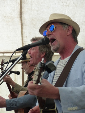 The Bluesbury Group at Green Fair 2018