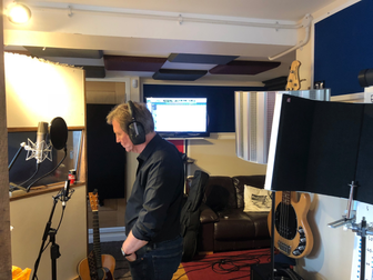 At Mayfield Studios, Portsmouth