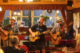The Bluesbury Group at The Barley Mow, Southsea, July 2019
