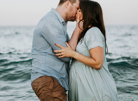Fort Lauderdale Maternity Shoot In The Ocean