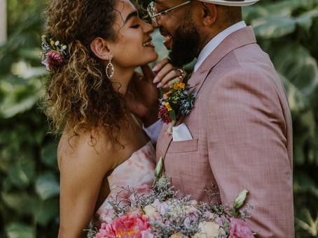 Colorful Miami Wedding