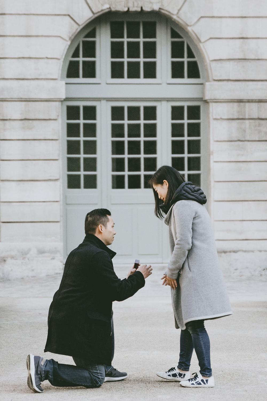 Paris Proposal Photographer Laura Palacios Photography