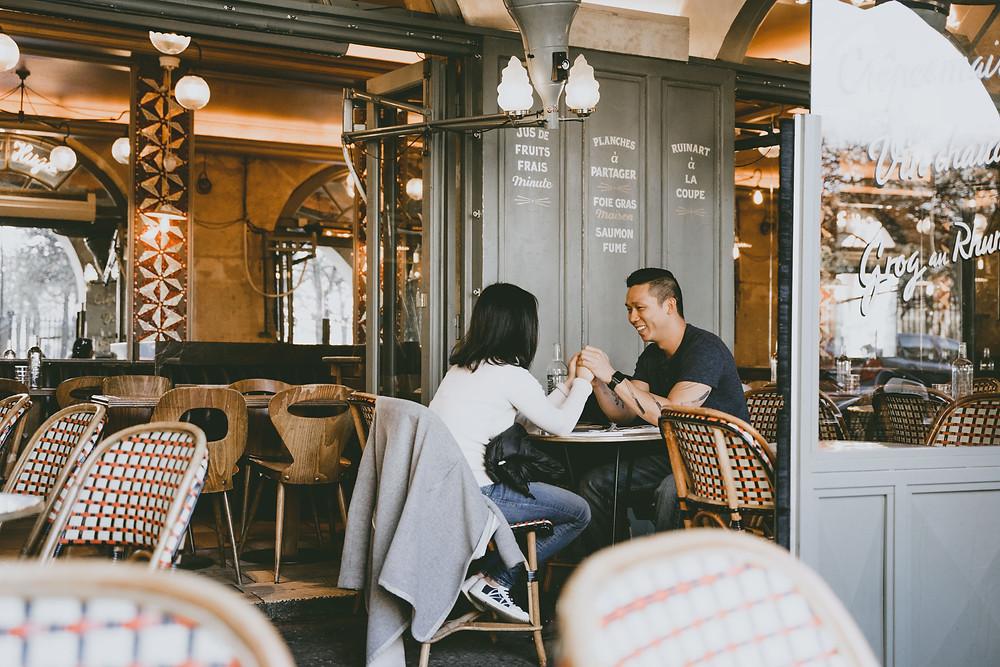 paris proposal planning photographer