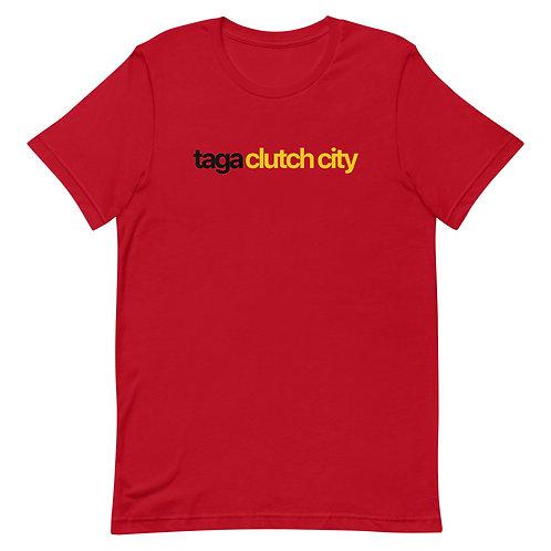 Taga Clutch City Short-Sleeve Unisex T-Shirt