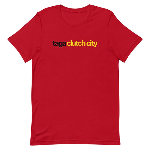 Taga Clutch City Short-Sleeve Unisex T-Shirt