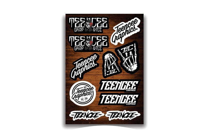 A4 Sticker Sheet - Stock