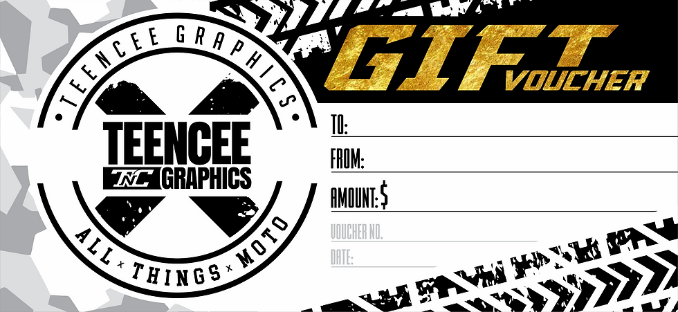 GIFT VOUCHER - HARD COPY