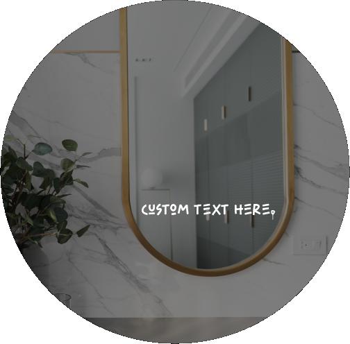 "DAILY INSPO DECAL | ""Custom text"""