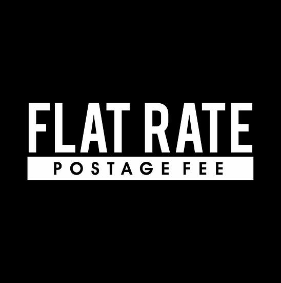 Flat Rate Postage fee