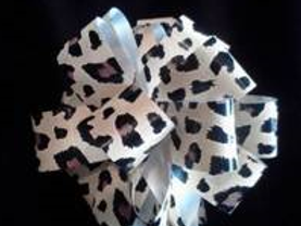 Cheetah or Zebra Pull Bows
