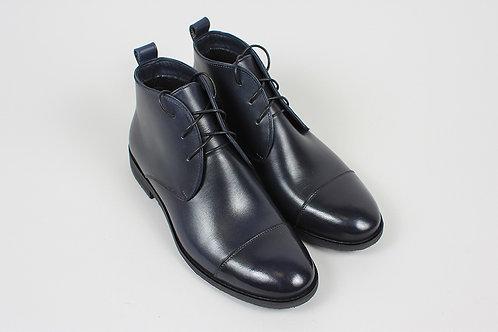 Чукки черные кожаные