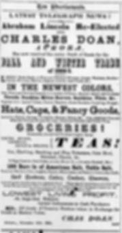 Nov. 18, 1864 - The Newmarket Era, p. 3.