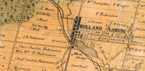 Holland Landing with Station - 1861.jpg