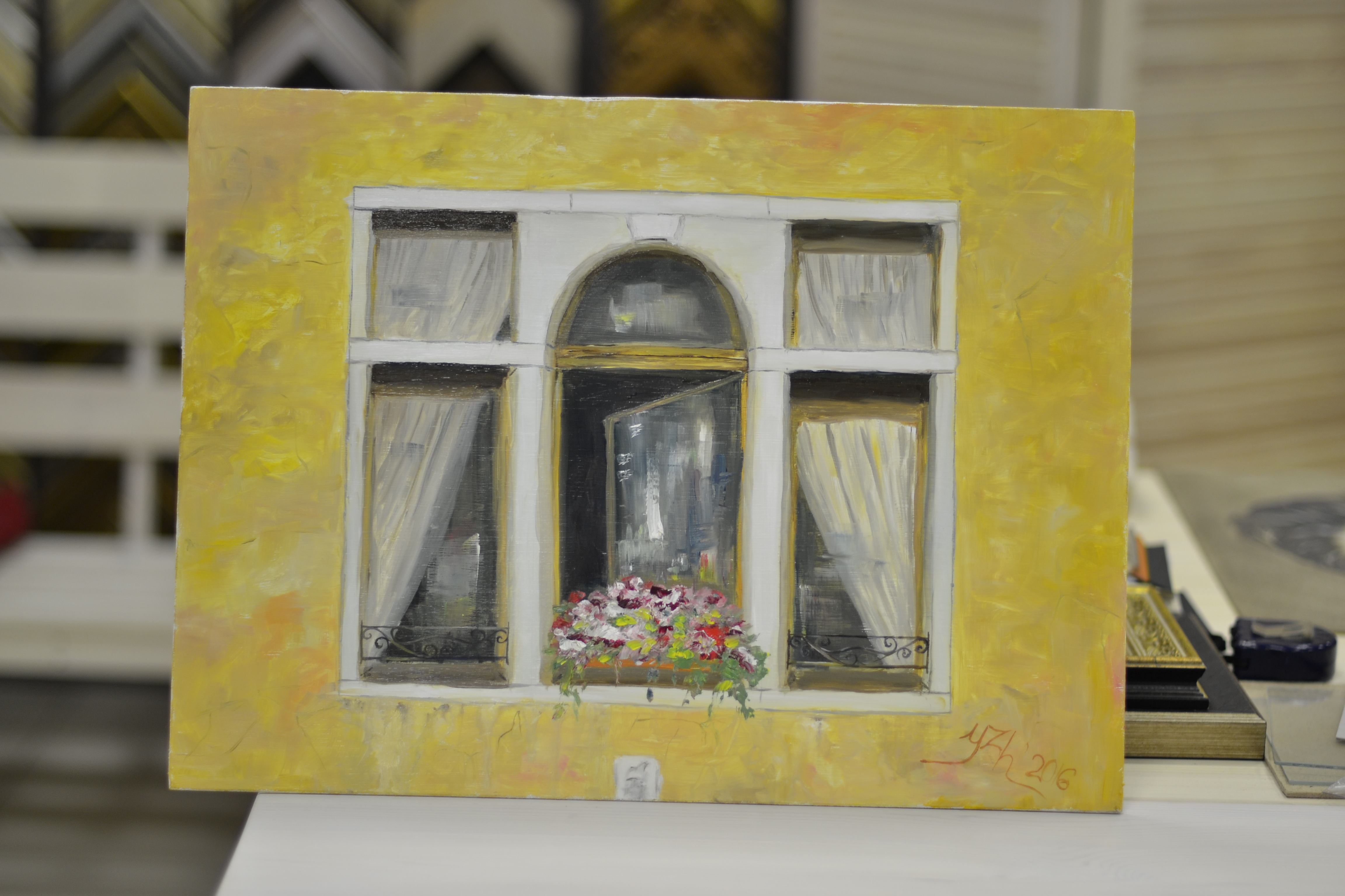 Окно в Венеции