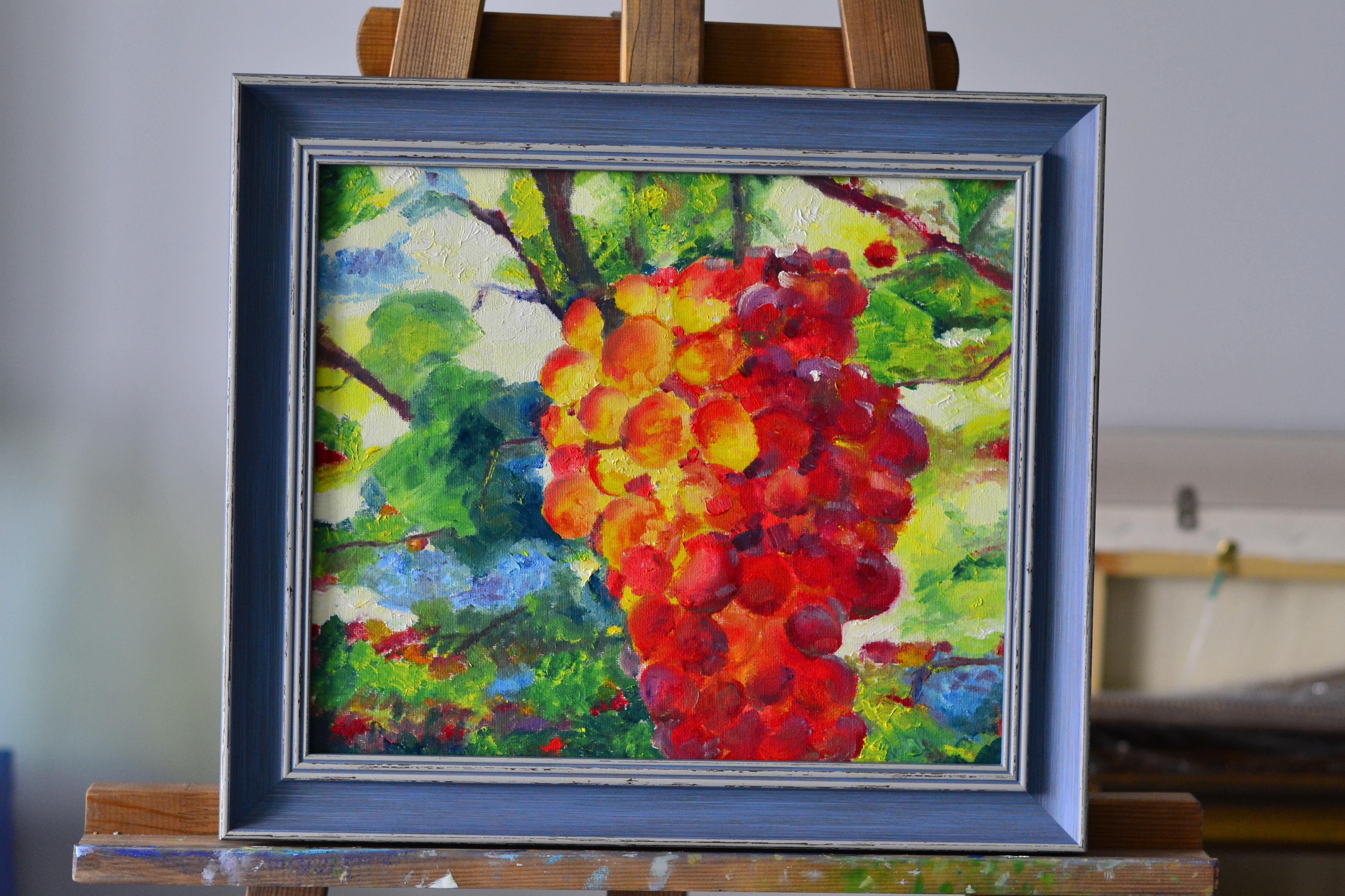 Летний виноград
