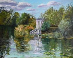 Лилии в Харитоновском пруду